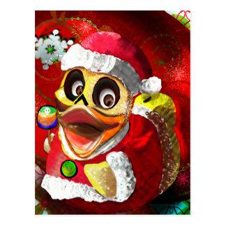 Cocos Ducky Gummisankt Postkarte