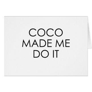 Cocos Karte