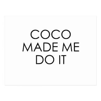 Cocos Postkarte