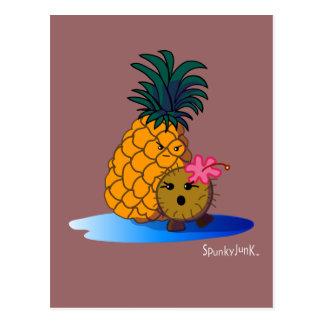 Cocos u. Badapple Postkarte