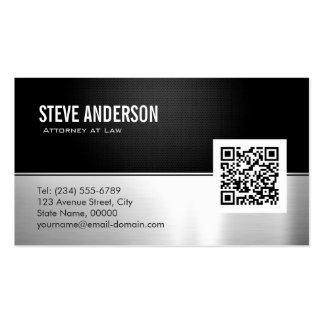 Code des Rechtsanwalts-Rechtsanwalt-moderner Visitenkarten