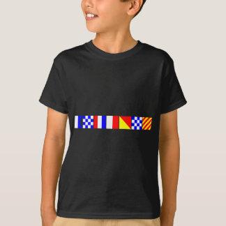 Code-Flagge Anthony T-Shirt