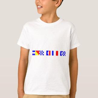 Code-Flagge Jonathan T-Shirt