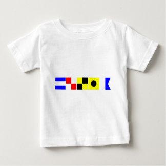 Code-Flagge Julia Baby T-shirt
