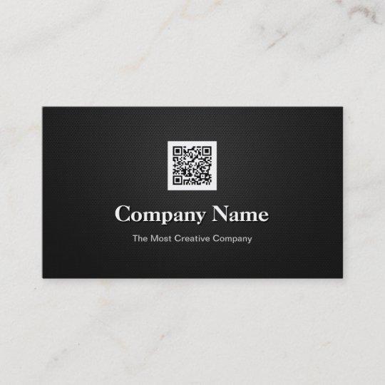 Code Logo Premium Black White Company Geschäfts Qr