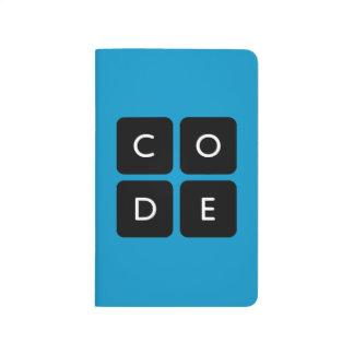 Code.org-Logo Taschennotizbuch