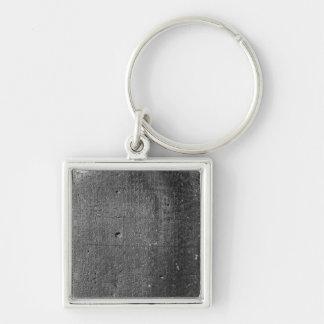 Code von Hammurabi, Detail der Spaltenaufschrift Schlüsselanhänger