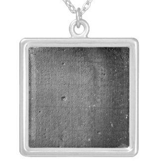 Code von Hammurabi, Detail der Spaltenaufschrift Versilberte Kette
