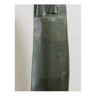Code von Hammurabi Postkarte