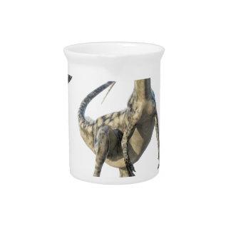 Coelophysis-Dinosaurier Runiing zur Front Getränke Pitcher