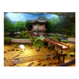COEX Aquarium Postkarte
