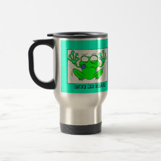 COFFE FROSCH EDELSTAHL THERMOTASSE