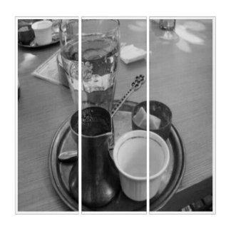 coffe Geschäfts-Triptychon durch glückliches Karma Triptychon
