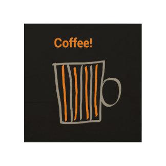 Coffe Kunst Holzdrucke