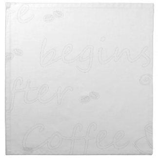 coffee19 serviette