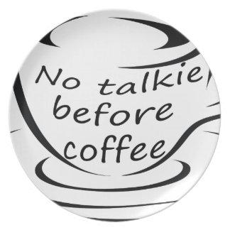 coffee22 melaminteller