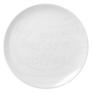 coffee23 melaminteller