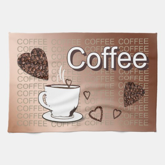 Coffee Küchentuch