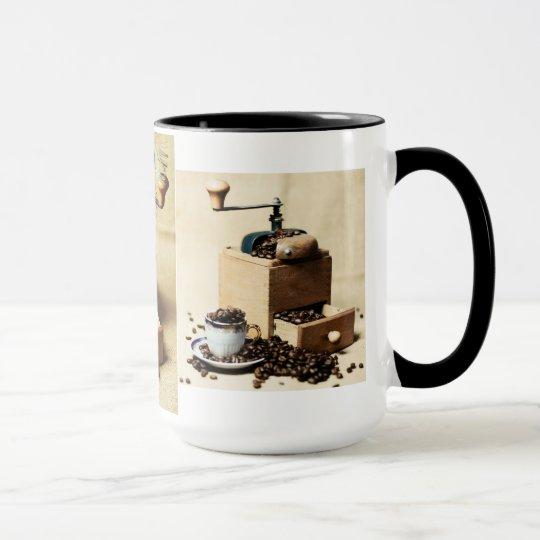 Coffee Mill - Kaffeemühle Tasse