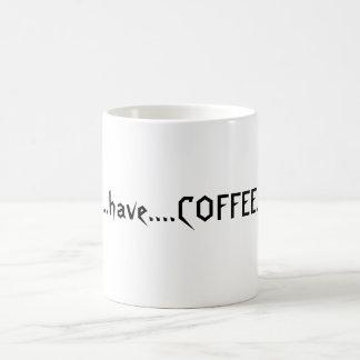 Coffeelovers Slogan Verwandlungstasse