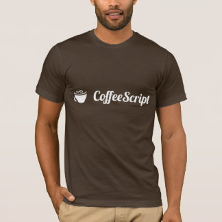 CoffeeScript T - Shirt (Brown)