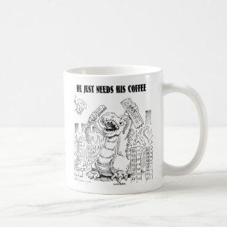 COFFEEZILLA KAFFEETASSE