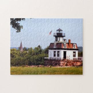 Colchester Riff-Leuchtturm, Vermont-Puzzlespiel Puzzle