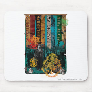 Collage 1 Neville Longbottom Mousepad