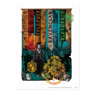 Collage 1 Neville Longbottom Postkarte
