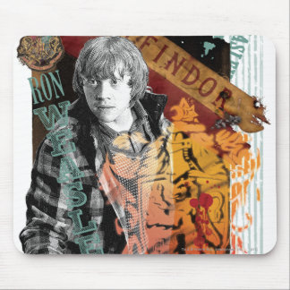 Collage 1 Ron Weasley Mousepad