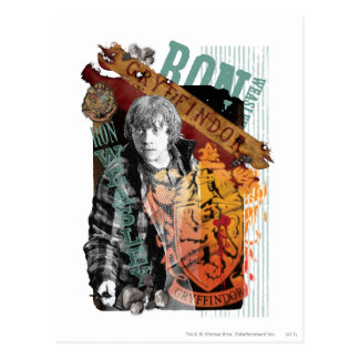 Collage 1 Ron Weasley Postkarte