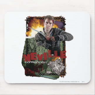 Collage 2 Neville Longbottom Mousepad