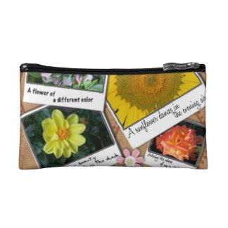 Collage der Blumen