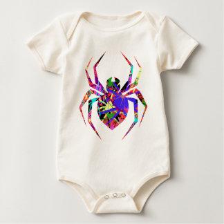 Collage der Spinnen Baby Strampler