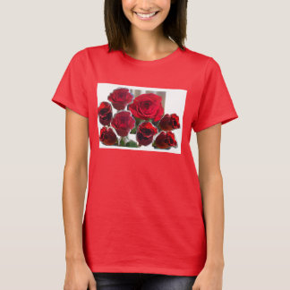 Collage Roses T-Shirt