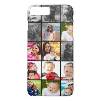 Collage schaffen Ihre eigene personalisierte iPhone 7 Plus Hülle