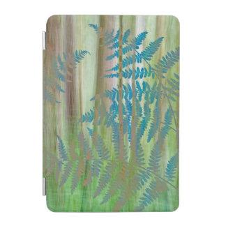 Collage von Adlerfarn-Farnen und von Wald | iPad Mini Hülle