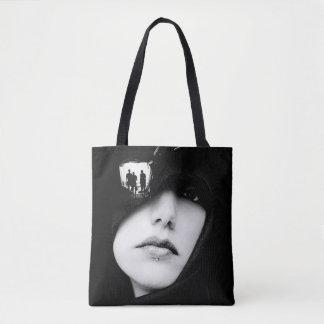 Collagen-Kunst-Taschen-Tasche Tasche