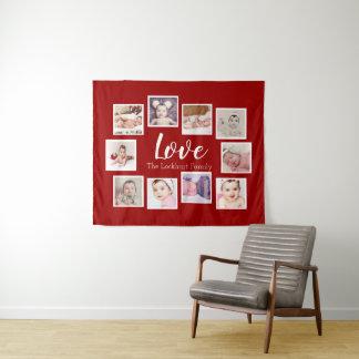 Collagen-personalisierte Liebe der Wandteppich
