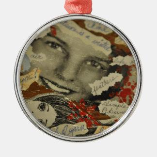 Collagenprodukte Silbernes Ornament