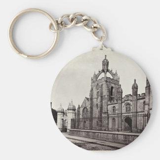 College Königs - Aberdeen-Universität - Vintag Standard Runder Schlüsselanhänger