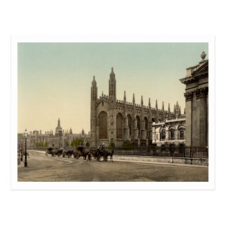 College Königs, Cambridge, England Postkarte