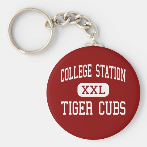 College Station - Tiger CUB - College Station Schlüsselbänder