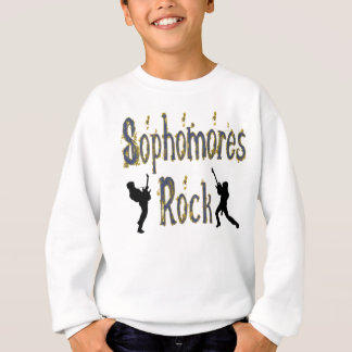 College-Student im 2. Jahren-Felsen - Gitarristen Sweatshirt