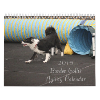 Collie-Agility-Kalender der Grenze2015 Abreißkalender