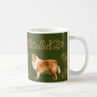 Collie-Eleganz Kaffeetasse