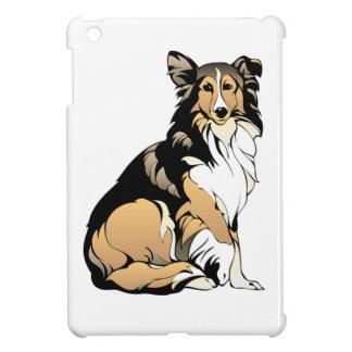 Collie-Hundezeichnen Hülle Für iPad Mini