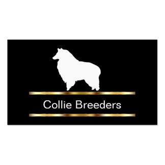 Collie-Hundezüchter-Visitenkarten Visitenkarten
