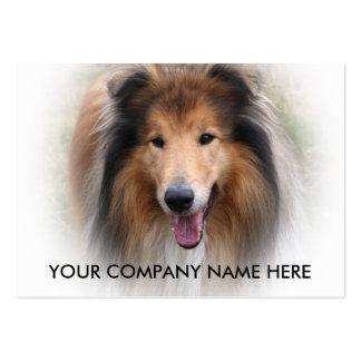 ColliehundeVisitenkarte addieren Ihre Details Jumbo-Visitenkarten