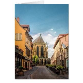 Colmar, Frankreich Karte